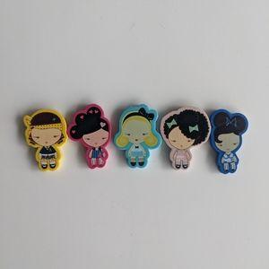 FREE Harajuku Lovers Eraser Set